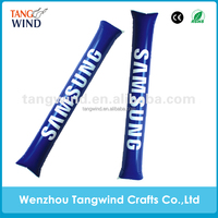 Eco-friendly Customized Plastic Inflatable Cheering Stick