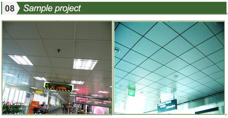 Insonoris es suspendu aluminium m tal d ploy plafonds tuiles de plafond id de produit - Plafond suspendu insonorisant ...