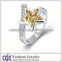 Wholesale 2015 star opal ring