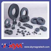 Customized round disc ceramic ferrite magnet