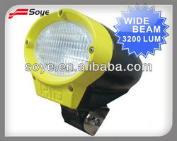 6'' top quality truck,farming, heavy duty used atv suv atv,mining,off-road H3 bulb 4x4 hid working light