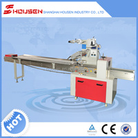 Full automatic disposable pillow syringe packing machine