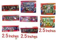 Wholesale Anime game Super Mario Bros Action Figure 6pcs
