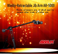 Pro lightweight camera rock arm crane jib for dslr dv camera video film