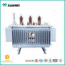 Manufacture China oil transformer 11kv~33kv 200~2500 kva copper windings 3 phase oil-immersed power distribution transformer