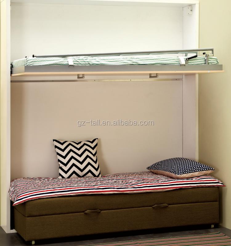 Ahorrar espacio en la Pared Del Sofá Cama sofá cama litera abatible ...