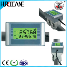 Ultrasonic flow meter for liquids digital wireless water flow meter