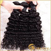 Charming 18 inch deep wave virgin remy peruvian hair weave