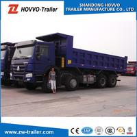 SINOTRUK HOWO 6ton diesel engine 4x4 mini dump truck for sale