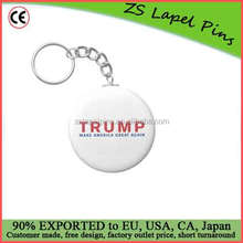 Free artwork design quality custom Donald Trump - Make America Great Again Basic Round Button Keychain