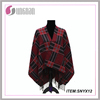 black and red knittd shawl for ladies