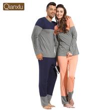 Qianxiu high quality various styles cheap lovers pajamas