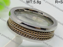 Wonderful mens black matte rings jewelry