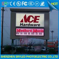 display base led aluminum cabinet p8 led billboards display sign outdoor advertising led display banner prices