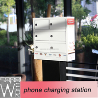 sopower phone charging station 6 docks rechargeable mobile phone charger
