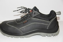 leather safety shoes steel toe