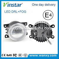 Vinstar universal 90mm led drl for all cars with fog function and emark