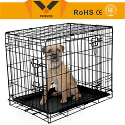 Wire mesh dog cage,Folding dog cage, dog cage for commercial