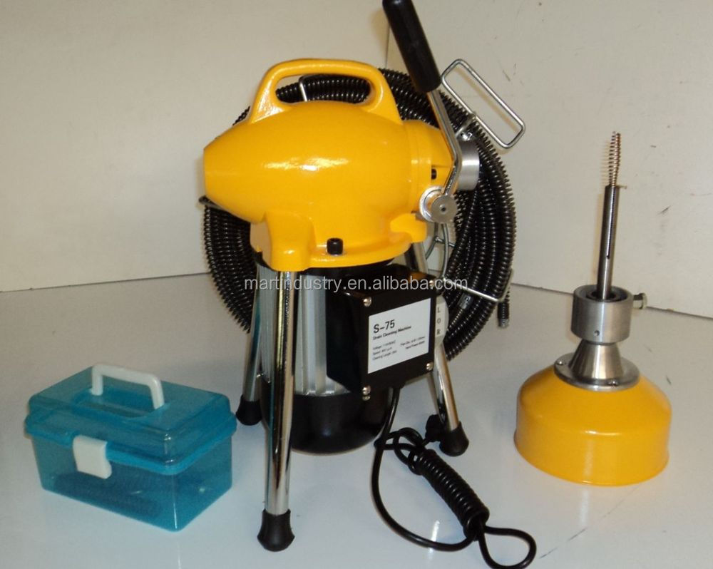 Coil Cleaning MachineSnake Hose CleanerBathroom Drain Cleaner - Bathroom cleaning machine