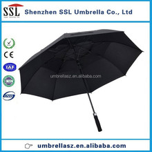 China product double canopy custom advertising golf umbrella outdoor