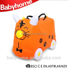 New Style 4 wheels suitcase colorful kids luggage