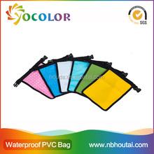 2015 hot sale 500D PVC tarpaulin red inflatable Waterproof Bag for boating