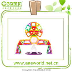 Top Selling Products 2015 Magnetic Building Blocks Toys Testing Product And CE Marked