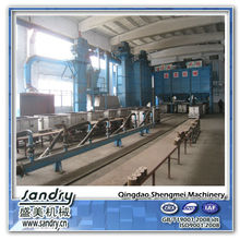 Qingdao 10t/h Lost Foam Casting Line LFC equipment for foundry