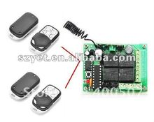 transmisor inalámbrico universal de control remoto inalámbrico puerta de garaje de control de puerta eléctrica