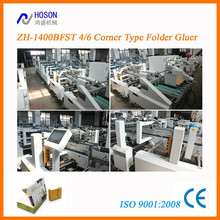 ZH1400 BFST 4/6-Corner Automatic Gluing Carton Boxing Machine
