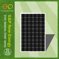 high efficiency low price High voltage solar panels