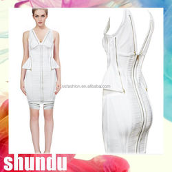 Best Selling knitting womens sexy dresses party night club dress 2015
