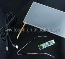6.5 inch monitor, resistive touch screen ,1.8inch to 23inch resistive touch panel from China