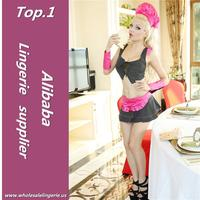 Fast deliver bar maid adult costumes made in China