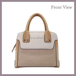 New Fashion Blank Jute Tote Bag for Ladies OEM Handbags