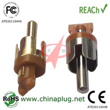 Lotus type audio waterproof multiple rca connector
