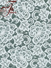 Super Thin 100% Nylon White New York Wholesale Fabric Lace