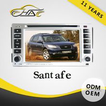 vehicle navigation for hyundai santa fe in dash in dash car dvd gps