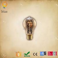 A19L Decorative Retro Imitate Carbon Spiral Filament Vintage Edison Light Bulbs