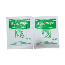 Guarantee of in time delivery with good price cleaning soap wipe