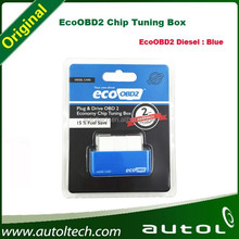 EcoOBD2 Chip Tuning Box Plug and Drive OBD2 Chip Tuning Box EcoOBD2 Blue color for Trucks and Green Color for Cars