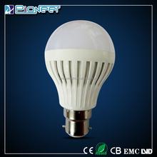 2015 new low heat generation led bulb 7W zhongshan guzhen led bulb lvd/emc indoor decorative led bulb