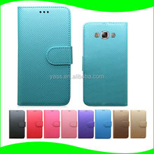 Alibaba China Leather Flip Case For Samsung Galaxy E7 Mobile Phone Back Cover Case