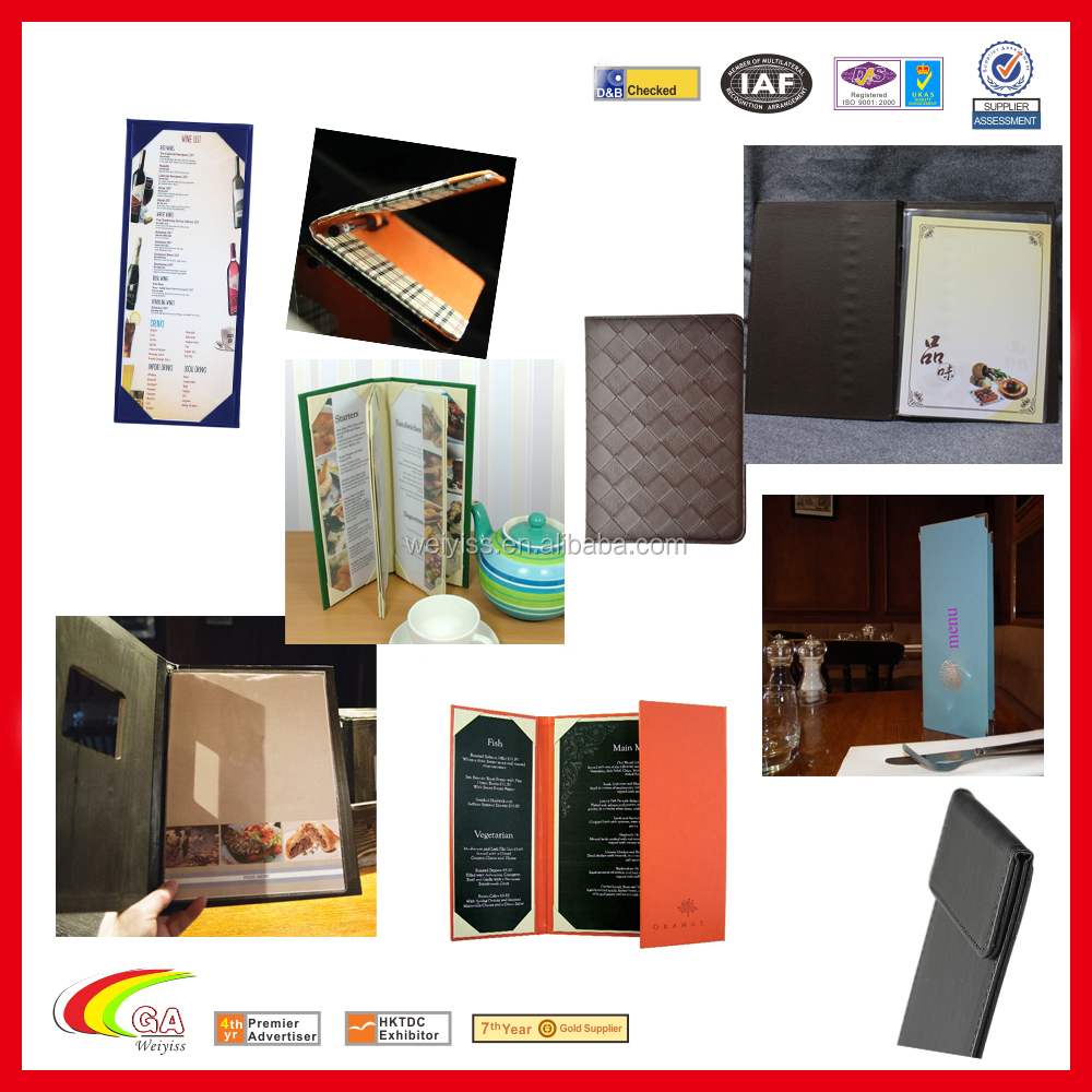 Price List Restaurant Beauty Salon Price List Cover
