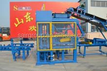 QT5-15 semi-automatic brick making machine/hollow block machine/concrete brick making machine