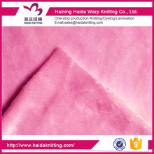Home Textile Soft Knitted Velboa Decorate Fabric