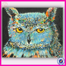 modern style paintings owl for home design