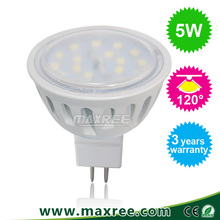 Factory price wholesale 5w mr16 led spot light, 5w led mr16,120 degree beam angle smd 2835 mr16 led spot light 5w
