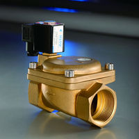 2-way type 1-1/2 inch 240v water solenoid valve