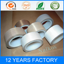 Heat Resistant PTFE Fiberglass Insulation Adhesive Tape